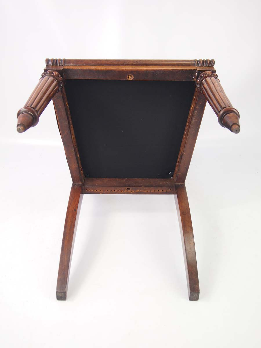 Antique william iv rosewood desk chair for Furniture direct
