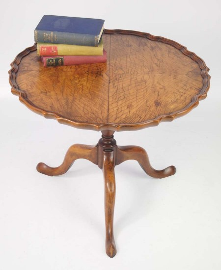 Walnut Tilt Top Coffee Table