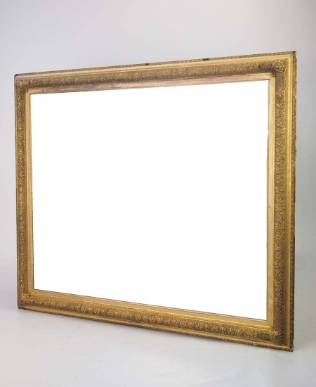 Large Antique Gilt Mirror