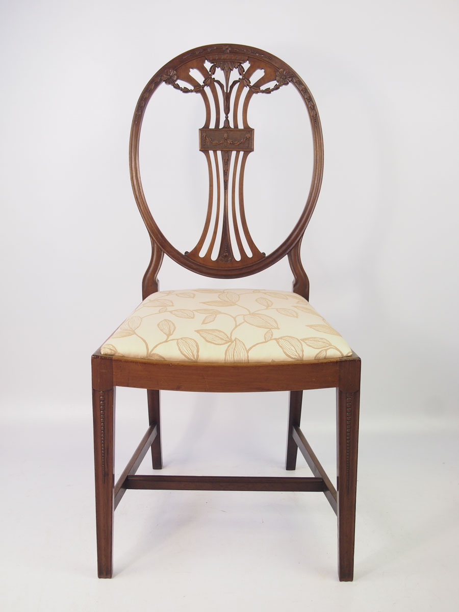 Dressing Table Chairs And Stools: Edwardian Mahogany Desk Chair / Dressing Table Chair
