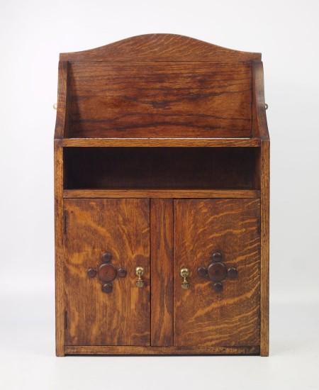 Vintage Oak Hanging Cabinet