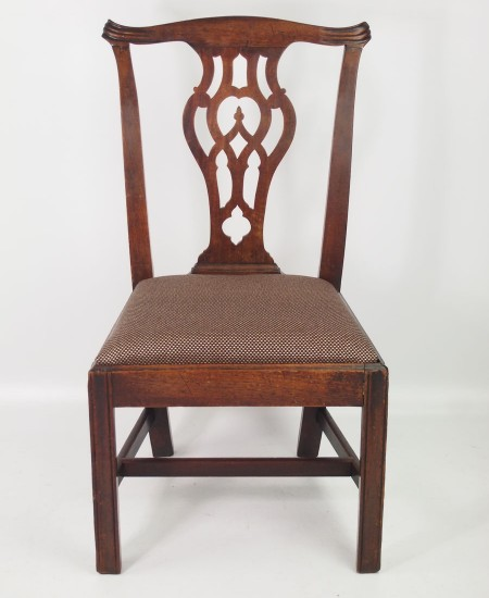 Georgian Mahogany Desk Chair