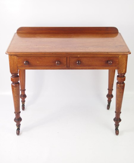 Antique Victorian Mahogany Desk