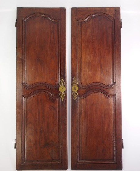 Pair Antique French Oak Doors