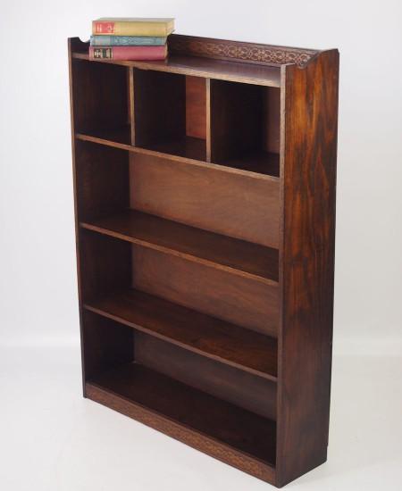 Oak Open Bookcase circa 1920s