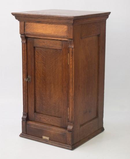 Edwardian Oak Cabinet