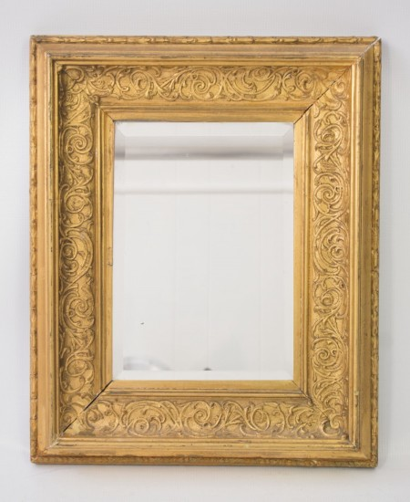 Small Victorian Gilt Mirror