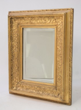 Small Victorian Gilt Mirror