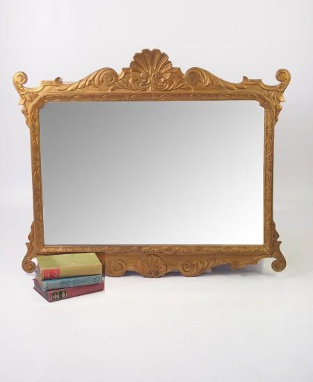 Large Antique Chippendale Mirror