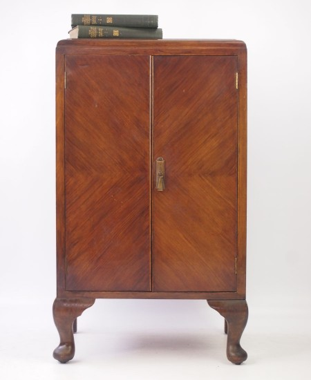Vintage Art Deco Music Cabinet
