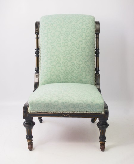 Aesthetic Movement Dressing Table Chair